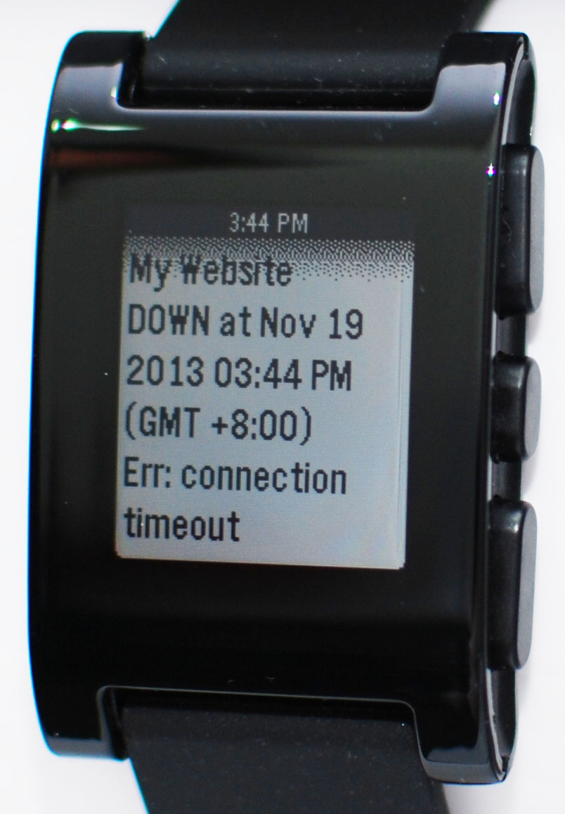 Pushover notificaties op Pebble smart watch